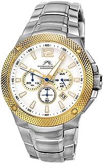 Porsamo Bleu Luxury Pierre Stainless Steel Silver Tone & Gold Tone Men's Watch 251BPIS