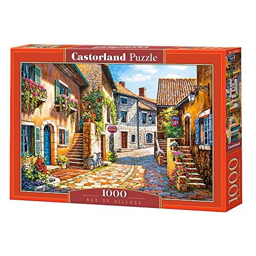 Rue de village 1000 pcs Puzzle   Rompecabezas (Puzzle rompecabezas, Ciudad, Niños y adultos, Niño/niña, 9 año(s), Interior) , color/modelo surtido