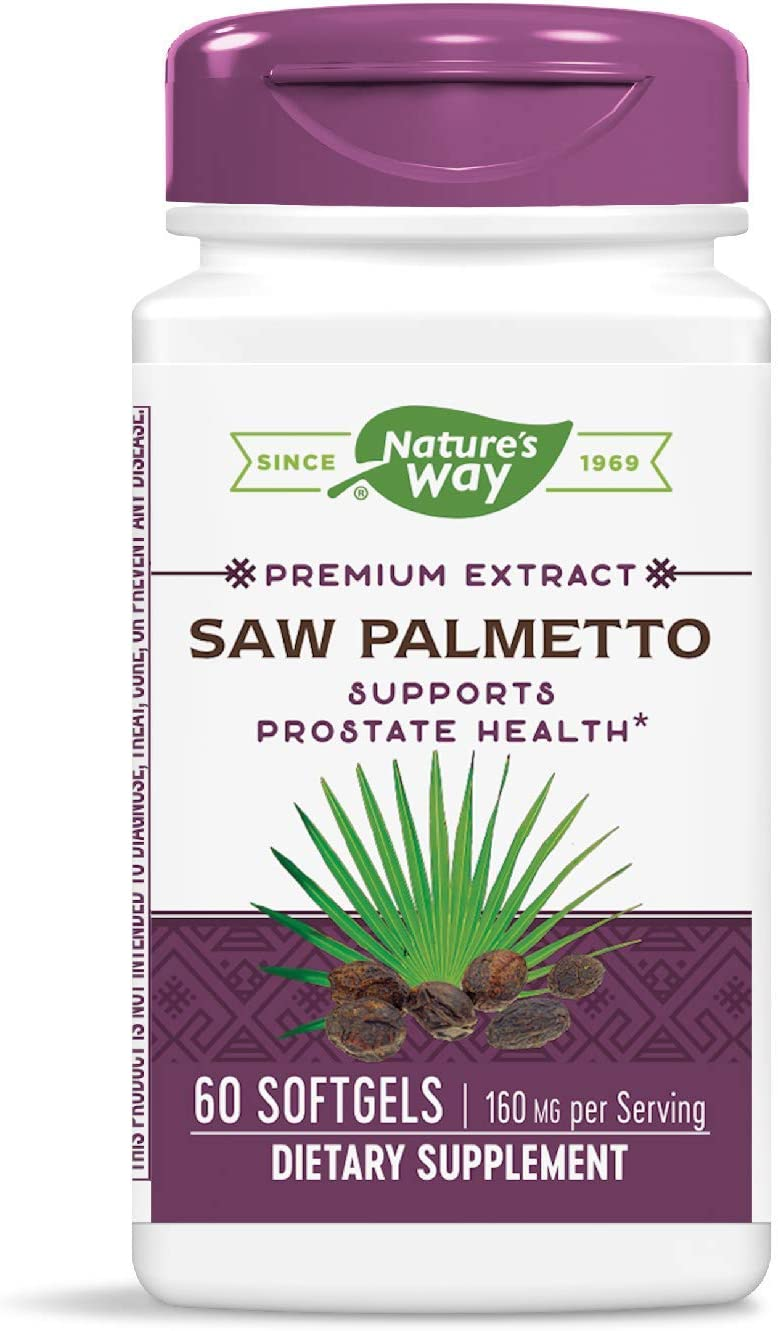 NATURE'S WAY SAW PALMETTO EXTRACT Seasonal Our shop most popular Wrap Introduction SGEL- Pack 3 60
