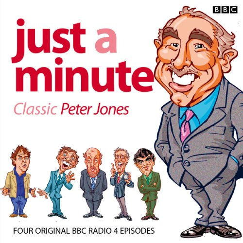 Just A Minute: Peter Jones Classics audiobook cover art