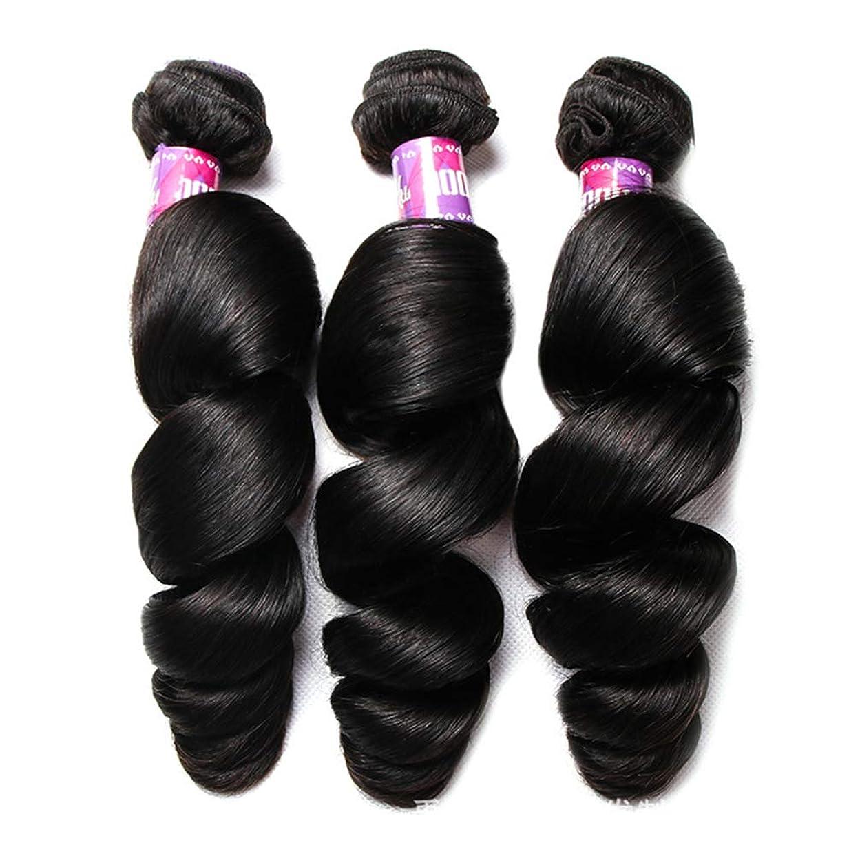ブレース不信機会ブラジルのボディウェーブの毛100%Remyの人間の毛髪の織り方延長未処理のバージンのブラジルの毛(3束)