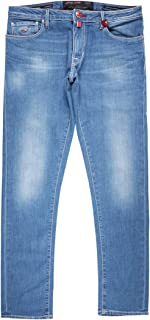 [34] [JACOB COHEN] ヤコブコーエン ジーンズ メンズ ブルー 青 J696COMF 大きいサイズ [21563] [並行輸入品]