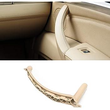 KESOTO Right Inner Brown Door Panel Handle Pull Trim Cover For BMW E70 X5 SAV 2007-2013 2008-2014 E71//E72 X6 SAV