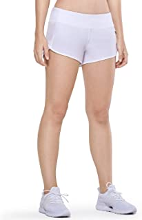 Women's Workout Sports Running Active Shorts with Zip Pocket - 2.5 Inches