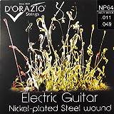D Orazio Strings Electric Guitar Nickel-plated Steel Round Wound ドラジオストリングス エレクトリックギターニッケルプレーテッド スチールラウンドワウンド 国内正規品 NP64 Heavy Medium 011-049
