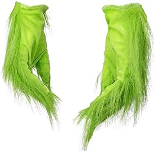 Christmas Xmas Green Monster Grinch Mask Costume Funny Performance Props