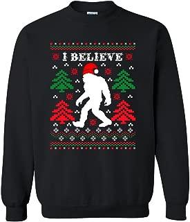 bigfoot ugly christmas sweater