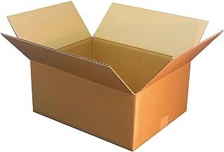 ボックスバンク ダンボール 引っ越し 段ボール箱 100サイズ(44×34×高さ19cm)5枚セット FD17-0001