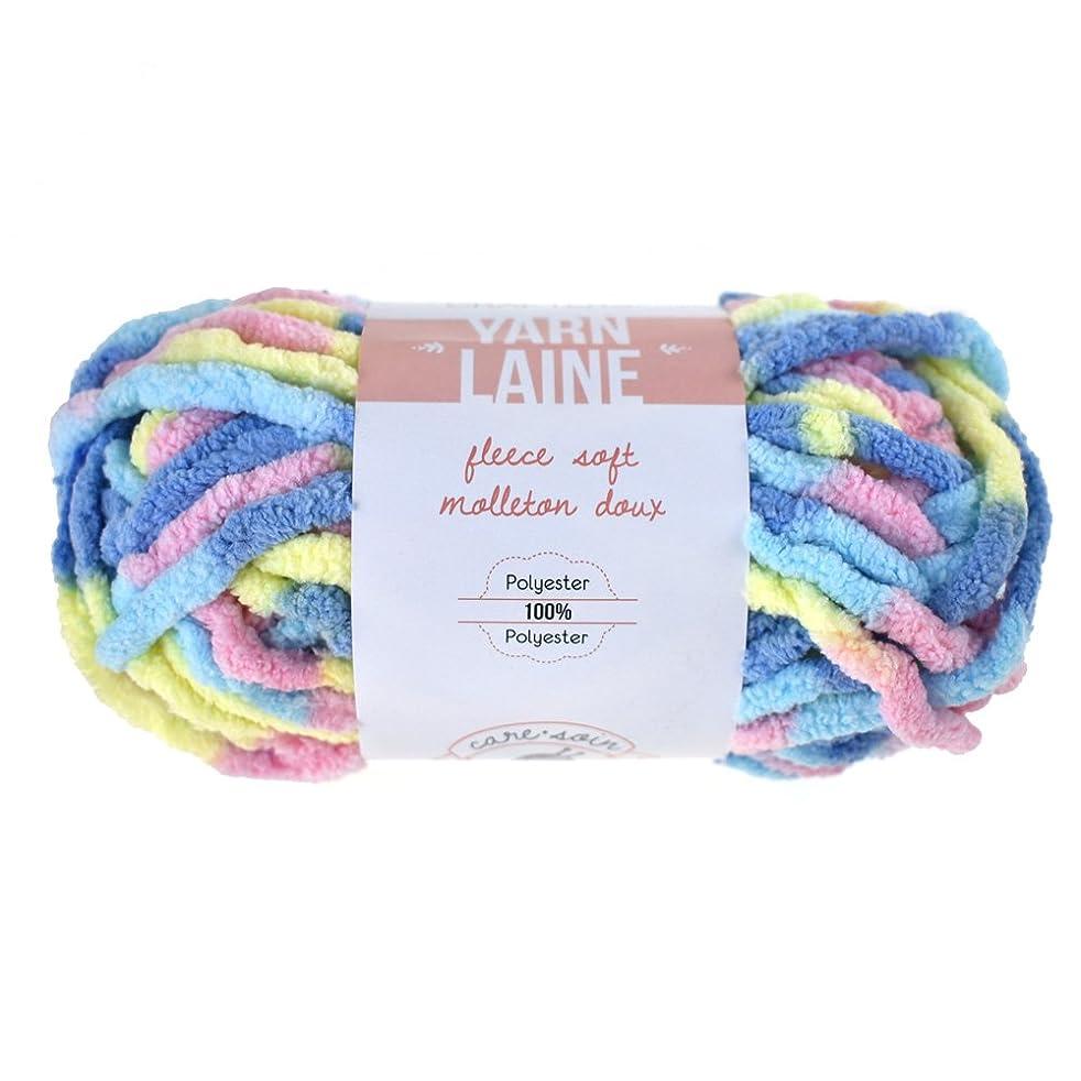 Homeford Fleece Soft Polyester Yarn Bundle, 21-Yard (Baby)