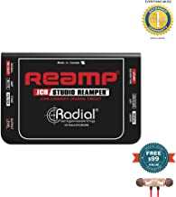 Radial Engineering Reamp JCR Studio Reamper includes Free Wireless Earbuds - Stereo Bluetooth In-ear and 1 Year Everything Music Extended Warranty
