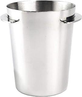 Baoblaze Dosage d'acier Tasse Café Renifler Tasse d'alimentation en Poudre pour 51mm Espresso Machine Porte-Filtre Café Sa...