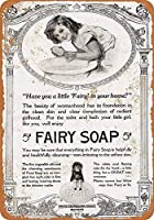 Fairy Soap 金属板ブリキ看板警告サイン注意サイン表示パネル情報サイン金属安全サイン