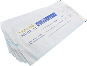 MonMed Self Seal Sterilization Pouches – 7.5 x 14 Inch Medical and Dental Sterilizer Bags, 200Pc Autoclave Pouch Pack