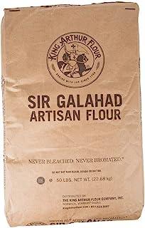 Orchard Hill 50 Pound Pack - King Arthur Flour Sir Galahad, Artisan Flour, All-Purpose [Food Service Size]