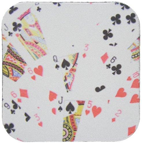3dRose CST_112895_2 Spielkarten Fotopartendeck, Fotogeschenk für Poker Bridge und andere Kartenspieler weiche Untersetzer, 8 Stück