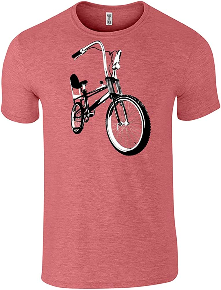 Have It Tall Men's Classic Retro Bike Graphic T Shirt