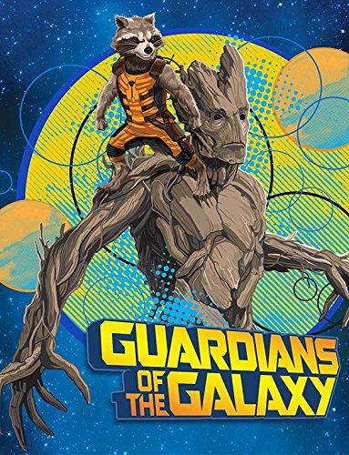 Marvel Guardians Of The Galaxy Throw Blanket Blue Blaze