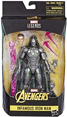 Marvel Legends Avengers Infamous Iron Man Collectible Figure