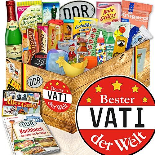 Bester Vati Paket / Geschenkset 24tlg. DDR / Ost Spezialitäten für Vati