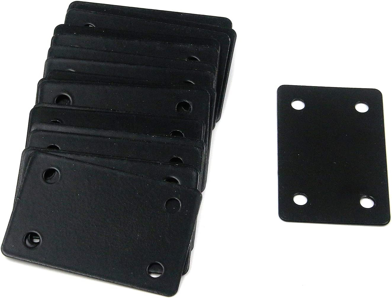 Mending Fort Worth Mall Plate Mcredy Flat Factory outlet Straight Brace 60x38mm Brackets 2.36x1