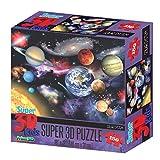 DAM- Howard Robinson Puzzles 3D, Multicolor (HR10807)