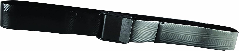 Secure SPGB-60B Easy Clean Transfer and Walking Gait Belt, Black, 60