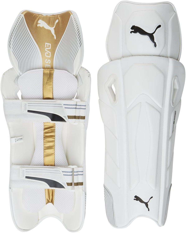 Puma, Cricket, Evo Special Edition Wicket Keeper Pad, Medium, White