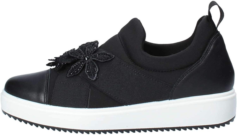 IGI&CO shoes Woman Low Sneakers Without Laces 3154500 Black