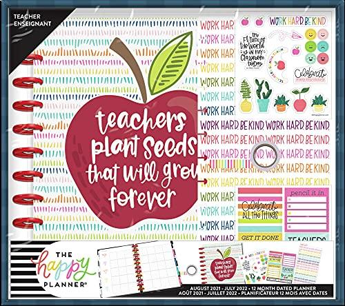 The Happy Planner Big Sized 12 Month Teacher Planner Box Kit - Teacher...