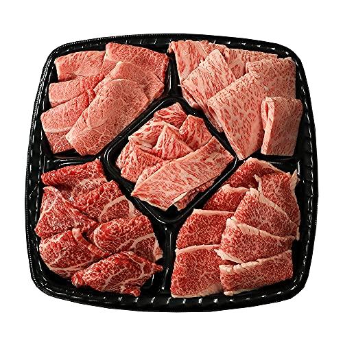 BBQプレート プレミアム 【冷凍 日時指定】3〜4人前 計680g 焼肉セット 常陸牛 カルビ サーロイン みすじ もも