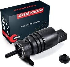 OTUAYAUTO 67128362154 Windshield Washer Pump with Grommet For BMW E46 E38 E39 E60 E65 X3 E53 X5 Z3 Z4