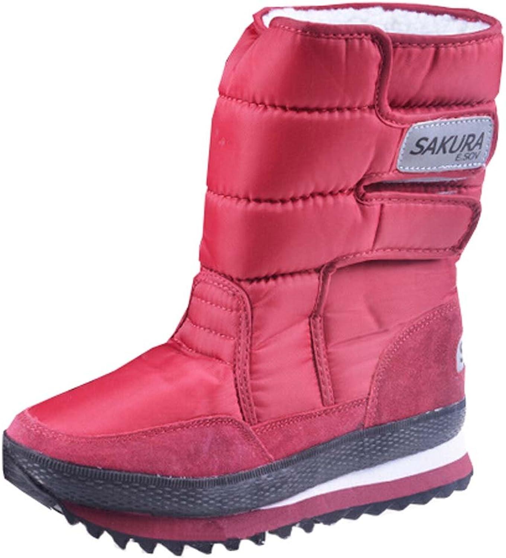 Women Boots high-leg platform women snow shoes waterproof boots snow boots