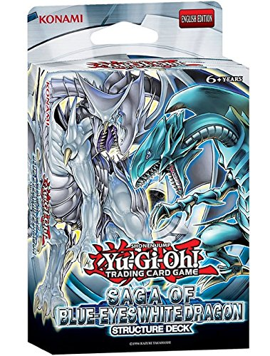 Konami Yu-Gi-Oh Saga of Blue-Eyes White Dragon Structure Deck Englisch