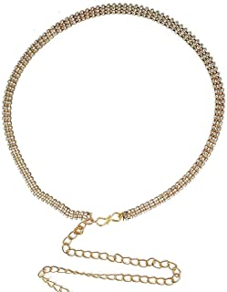 VAMA FASHIONS Gold Plated Body Belly Chain for Women