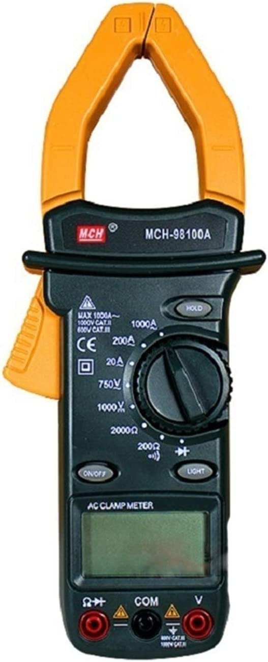 mart YYONGAO Digital Clamp Attention brand Multimeter MCH-98100A Meter