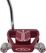 T7 Twin Engine Red Mallet Golf Putter Right Handed with Alignment Line Up Hand Tool 33 Inches Petite Lady's Perfect for Lining up Your Putts