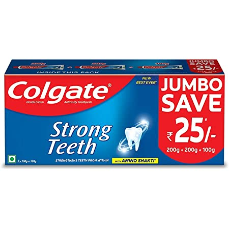 Colgate Strong Teeth Cavity Protection Toothpaste 500gm