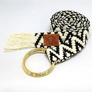 【ピーチブランド】 リングベルト ゴージャス 日本製 80年以上続く老舗細巾織物メーカー直販 プレゼント レディース 婦人用 フリンジ