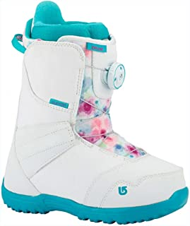 Burton - Youth Zipline Boa Snowboard Boots 2018, White/Frostberry, 4K