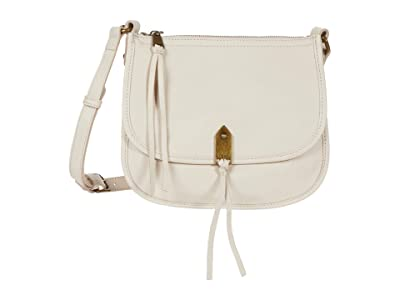 The Sak Playa Leather Saddle Bag (Stone) Handbags