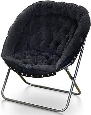 JIEER Au Chambres Pliante Chaise C Chaise Sol Rembourrée mNnw80