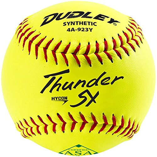 Dudley Thunder ASA Synthetic Slow Pitch 11 Inch Softball 12 Ball Pack