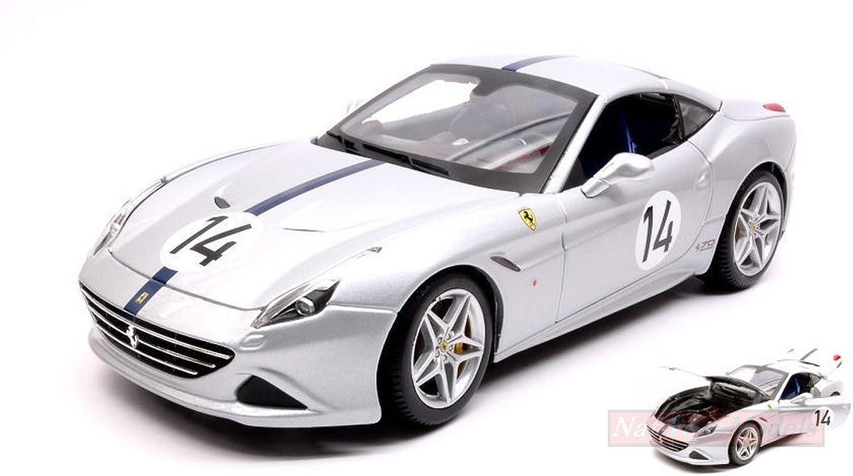 selección larga Burago BU76103 BU76103 BU76103 Ferrari California T N.14 The Hot Rod 70th Anniversary 1 18  Compatible con  moda clasica