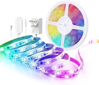 Govee RGBIC taśma LED 5m, synchronizacja taśmy LED z muzyką, sterowana przez aplikację, na imprezę, dom, sypialnię, telewi...