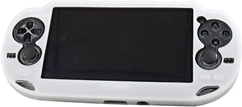SNNC Playstation Vita 1000 Silicon Full Cover Skin Protector Case for PSV1000 (White)