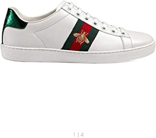 Gucci-1 Women Men Ace Bee White Sneakers Shoes