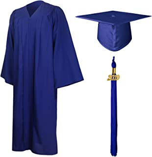 blue gown for graduation