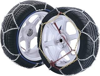 10 piezas de autom/óvil reutilizable Universal Fit Seguridad de nieve antideslizante Cadenas Tyer de neum/áticos Tendones engrosados Yctze Ruedas antideslizantes de ruedas de coche