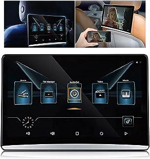 """Reprodutor de DVD de apoio de cabeça universal Android 9.0 de 13,3"""",Player de vídeo do carro para crianças no banco trasei..."""