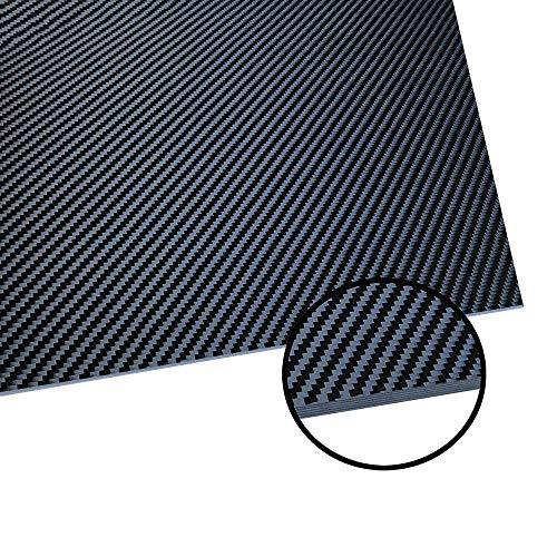 LOKIH Kohlefaser-Platte Haltbar Und Einfach Zu Arbeiten,200mmx300mmx3mm